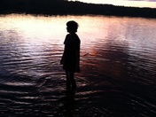 Sunset, Lake Dennison Recreation Area, Massachusetts