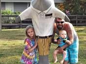 Caladesi Island Dolphin Statue