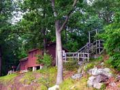 Cabin at Dewolf Point State Park