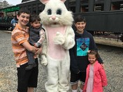A Visit With the Easter Bunny at Allaire State Park