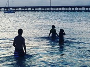 Sunset Swim Bahia Honda