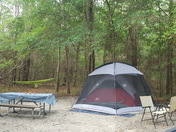 Protected campsite