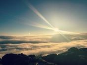 Beautiful Sunrise Petit Jean Mtn.