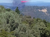 Auburn Fire, view from our deck