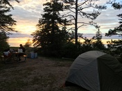 Camping at Wilderness State Park