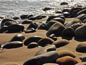 Surf Sand and Rocks