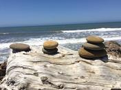 Beach Rock Art