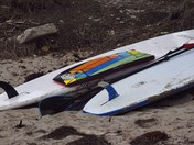 Resting Surfboards
