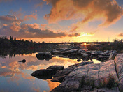 Lake Natoma Sunset