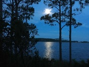Western Lake from Camp Site 14, Grayton Beach