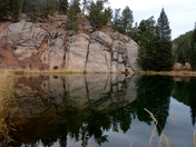 Reflections at Rock Pond