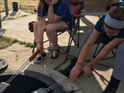Cooking camp style