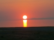 i Love the sunsets on Antelope Island