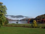 Mist on Quaker Lake