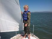 Day Sailing off of China Camp