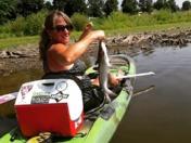Kayak catfishing