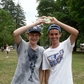 Water Balloon toss and catch winners in Allegany State Park