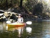 Kayak with family