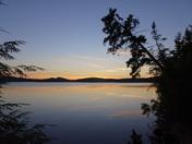Meacham Lake September Sunset