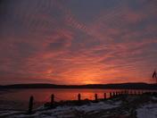 January Sunrise over Lake George