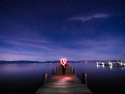 Stargazing at Lake Tahoe