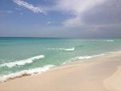 Grayton Beach's crystal clear water