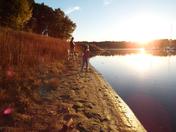 Golden Hour Fishing at Buck Creek State Park Lake Rathbun