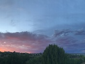 Sunset on Lake Sumner II