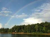 Double rainbow of love