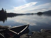 Hanging out on Saranac Lake