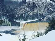 winter at the falls