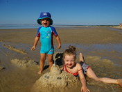 Funny beach day at Nickerson State Park!