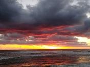 Smoldering Spring Sunset