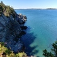 Stunning coastline at Quoddy Head State Park, westernmost point in US