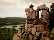 Devils Doorway at Devils Lake