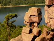 Scenic Overviw at Devils Lake WI