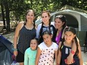 Familia camping