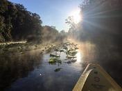 Foggy Morning Paddle