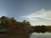 Tomoka State Park Sunrise - super wide