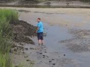 Erik at little talbot island