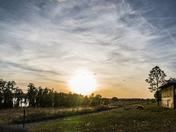 Sunset over Lake Louisa