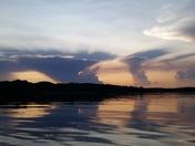 Acton Lake Sunset