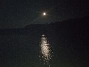 Moon on Meteor Shower night