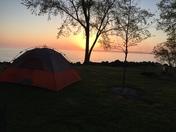 Kellys Island at Day Break