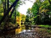 Fall camping in Ohio