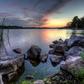 Guilford Lake Sunset