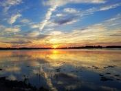 A Breath taking sunset