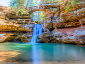 Lower Falls -Old Man's Cave, Hocking Hills