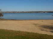 Private Beach at Alum Creek State Park