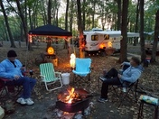 Halloween Camping